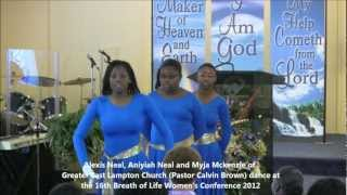 Greater East Lampton Dance Ministry, Greater is Coming! @BOL Conf 2012