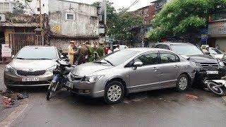 Tai nạn liên hoàn ở cổng viện Bạch Mai, thương vong gia tăng