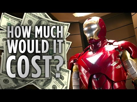 How Much Would It Cost To Be Iron Man?