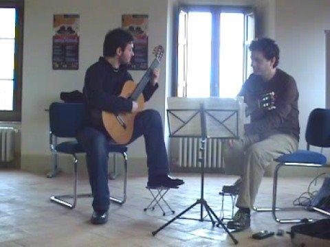 Antonio Mascolo- Villa Lobos study n. 12 -Marco Socias masterclass