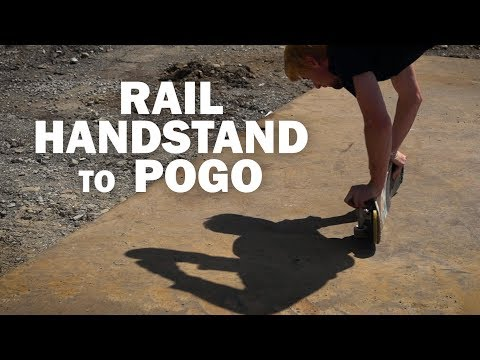 Rail Handstand to Pogo: Dan Garb || ShortSided