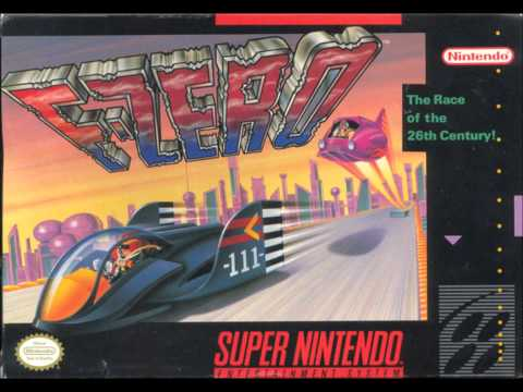 F-Zero is listed (or ranked) 50 on the list The Best Video Game Soundtracks of All Time