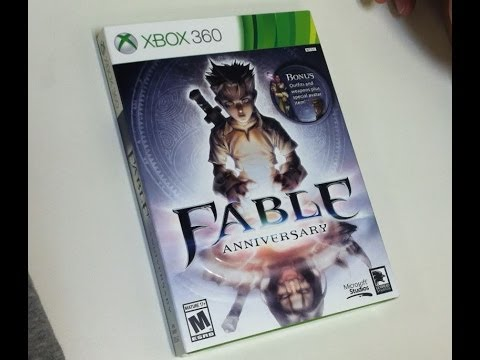 fable anniversary (xbox 360) unboxing youtube
