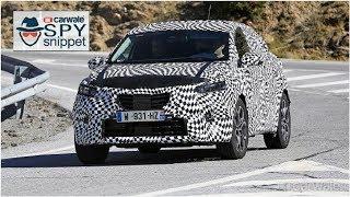 Next-generation Euro-spec Renault Captur spied on test | CAR NEWS 2019