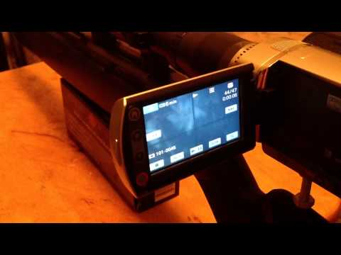 Night vision Set Up sony handycam