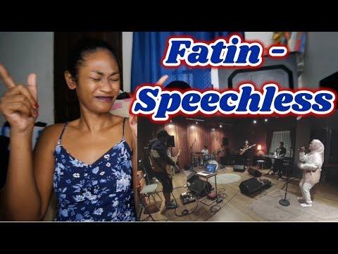 Download  Fatin - Speechless Naomi Scott Cover | Reaction Gratis, download lagu terbaru