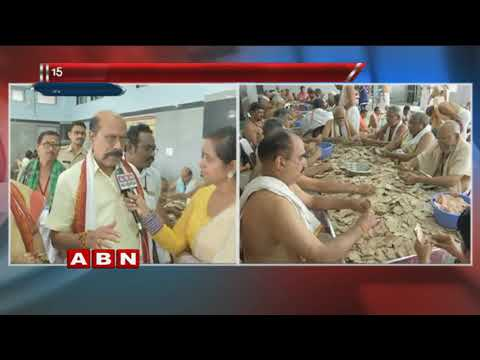 Counting of 'hundi' collection begins at Durga temple | Vijayawada