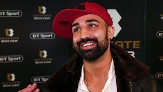 'I couldn't have gone any easier on CONOR McGREGOR,' Paulie Malignaggi on UFC & bareknuckle future
