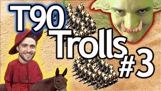 T90 Trolls Episode #3   Missionary Rush vs RiotDash