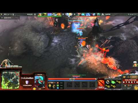 Team Empire vs RoXKIS Game 1 Part 1   DOTA 2 Champions League TobiWan