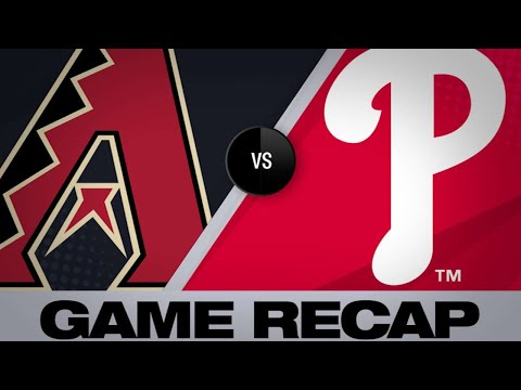 6/12/19: Kelly blanks Phils in D-backs' 2-0 win