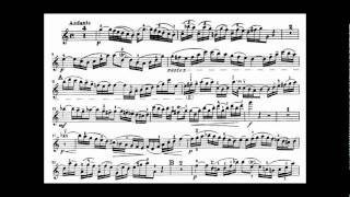 Bach, J.S. violin concerto in A minor BWV 1041
