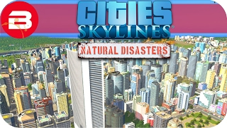 Cities Skylines Natural Disasters Gameplay - MAN-MADE DISASTER (Hard Scenario) #25