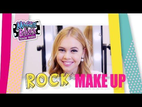 Maggie & Bianca Fashion Friends | GO.ZY. Make Up Tutorial - Bianca Rock Style