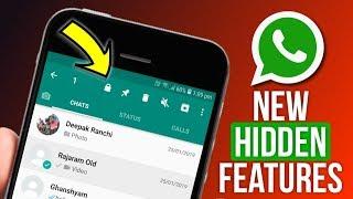 WhatsApp New Hidden Features 2019 - WhatsApp Fingerprint Lock