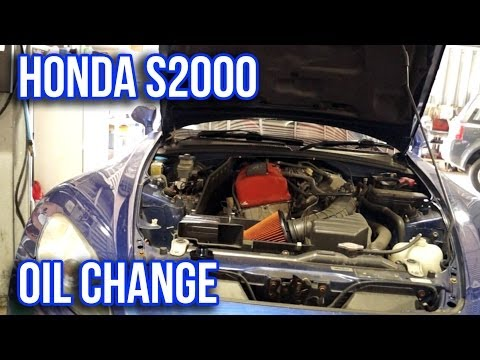 Honda S2000 Oil Change Tutorial