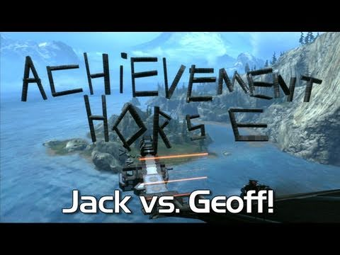 Halo: Reach - Achievement HORSE #15! (Rad Jack vs. Weak Geoff!)