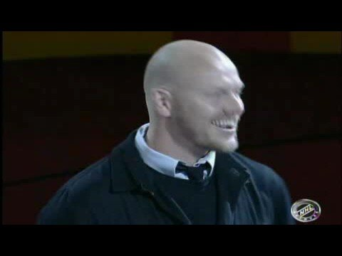 Mats Sundin puckdrop Video