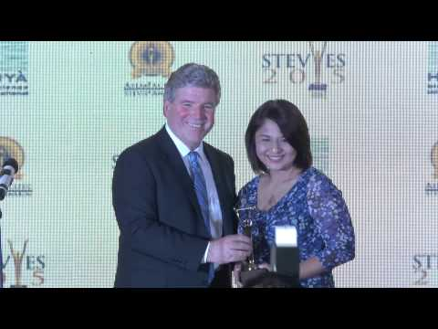 Singapore Power wins a Stevie Award at the 2015 Asia Pacific Stevie Awards.