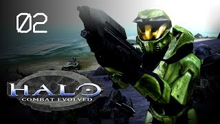 Let's Play Halo: Combat Evolved (SPV3) - 02 - Brace for Impact