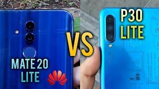 Huawei P30 Lite vs Huawei Mate 20 Lite