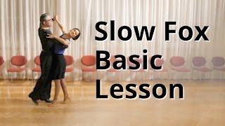 Slow Foxtrot Basic Lesson   Ballroom Dance