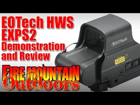 EOTech EXPS2 XPS2 Review and Demonstration: Waste of money or great addition to your rifle?