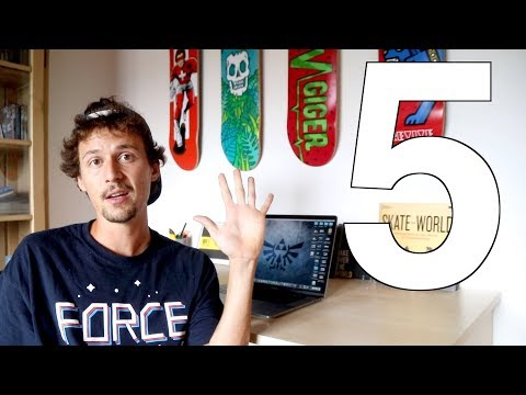 Top 5 Skateboard Trick Inventions!