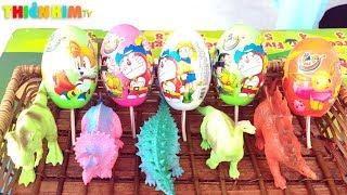 Trò Chơi Bóc Trứng Khủng Long ❤ Kim Kid Channel ❤ Toys for kids