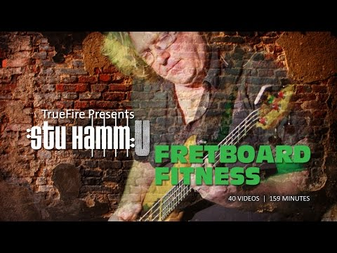 Bass Guitar Lessons - Fretboard Fitness - #1 Introduction - Stu Hamm video