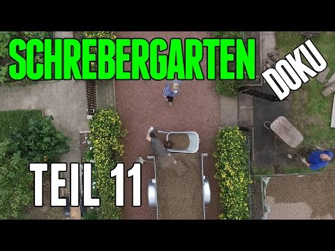 Schrebergarten Doku Teil 11 haufenweise Kies #259