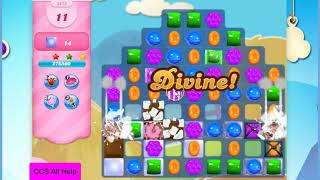 Candy Crush Saga Level 2878 20 moves NO BOOSTERS Cookie