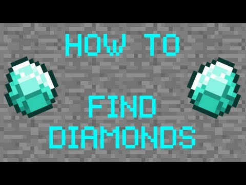 Minecraft Tutorial - Best Method to Finding Diamonds (XBox. PC. Mobile)