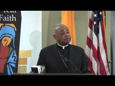 Archbishop Gregory reflects on the challenges facing next Pope