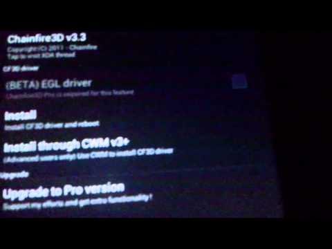 instalar Chainfire3D en samsung galaxy tab 2 7.0