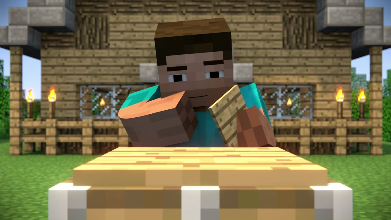 Minecraft Animation Background a Minecraft Animation