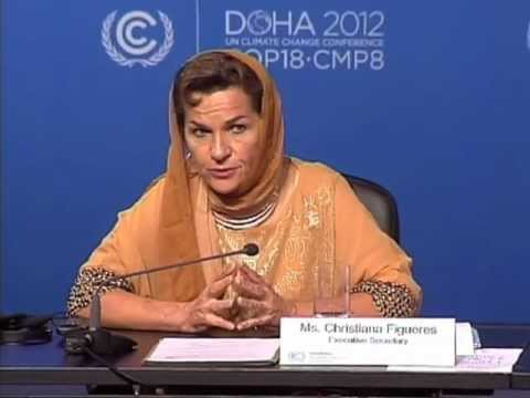 Christiana Figueres on the objectives of the Doha Climate Change Conference