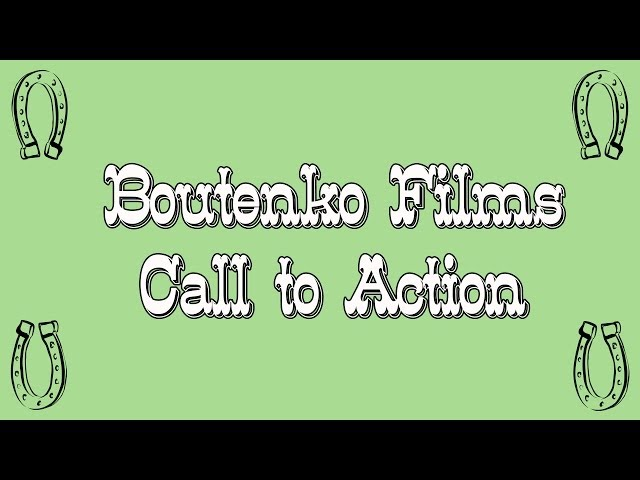 Boutenko Films Call To Action (we wanna hear from you)