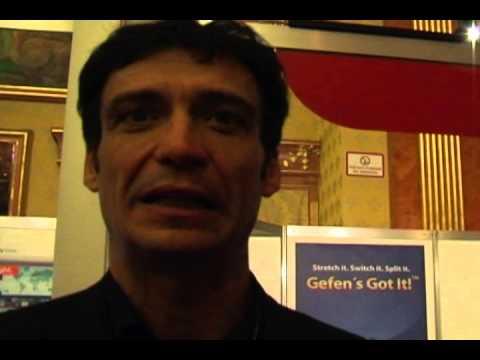 SIEC Convention 2012 - Intervista a Stefano Capitani di Comm-tec Italy