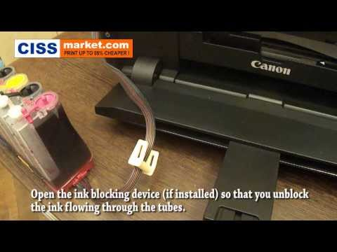 Canon Pixma iP7250 CISS Installation Video Tutorial    CISSmarket