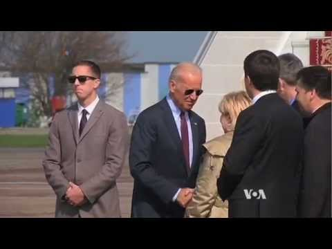 Biden in Ukraine as Geneva Deal on Crisis Faltering