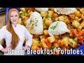 Breakfast Potatoes Жареная Картошка
