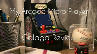 My Arcade Micro Player Galaga review
