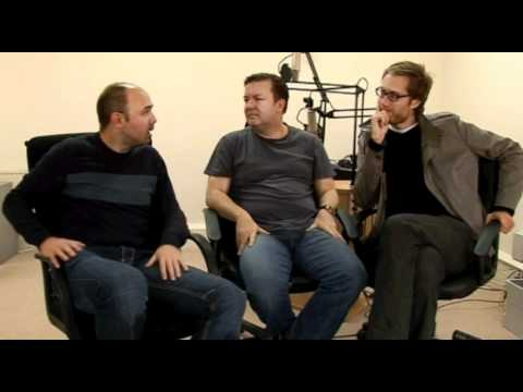 Ricky Gervais, Stephen Merchant and Karl Pilkington - The British Empire and the English language