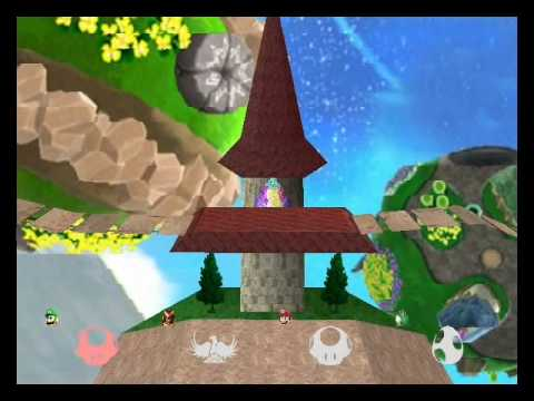 Super Smash Bros Brawl 64 Hack Texture Ver #1
