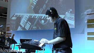 Musikmesse 2014 - Roland FA-06: le demo alla Press Conference italiana