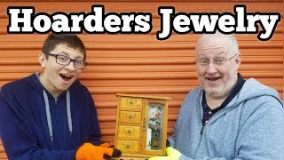 HOARDERS HOUSE JEWELRY I Bought Abandoned Storage Unit Locker / Opening Mystery Boxes Storage Wars