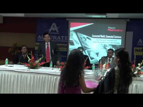 National HR-Seminar at Accurate Institute of Technology, mba best colleges in india