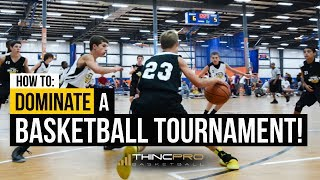 How to - DOMINATE a Basketball Tournament! (Basketball Training Tips for Young Players)