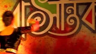 Basanta Utsav - Bengali girl dancing in rabindra sangeet in kolkata basanta utsav